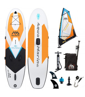 Pack windsurf aquamarina gonflable blade 2019